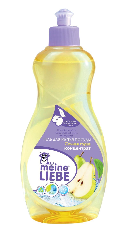 Средства для мытья посуды Meine Liebe Сочная груша концентрат 500 мл цена и фото