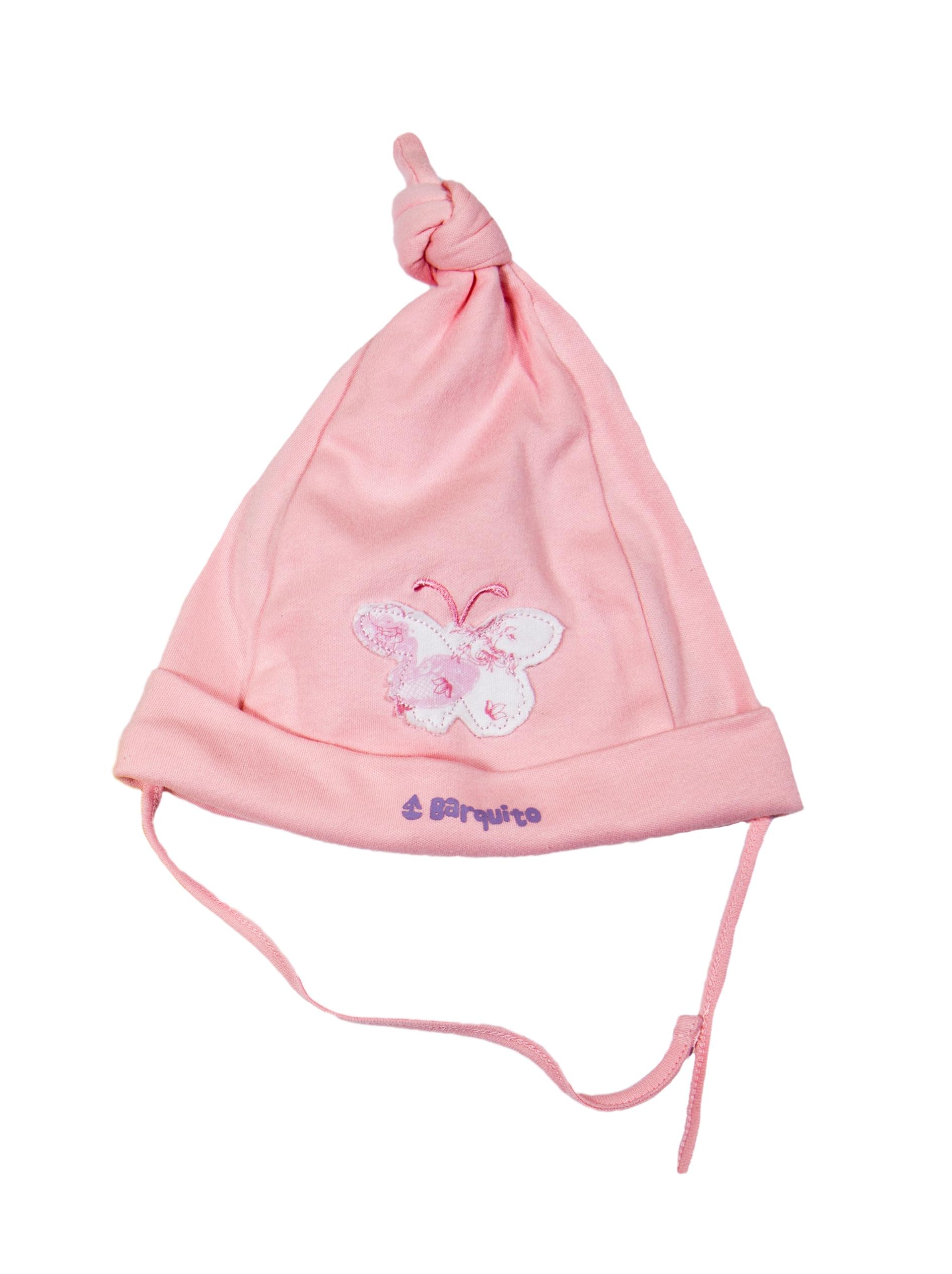 Первые вещи новорожденного BARQUITO Шапочка для девочки цена