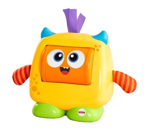 Развивающие игрушки Fisher Price Развивающая игрушка Fisher Price «Добрый монстрик» музыкальная игрушка обезьянка fisher price