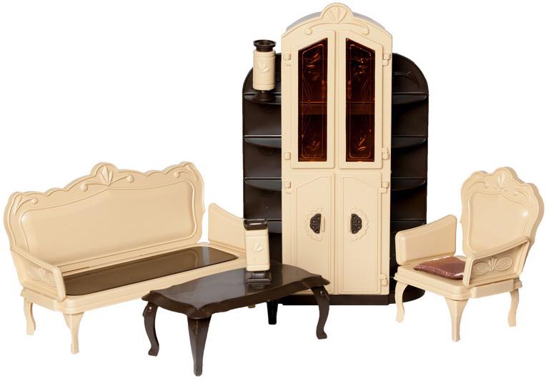 Мебель для кукол Огонек Набор мебели для гостиной Огонек «Коллекция»