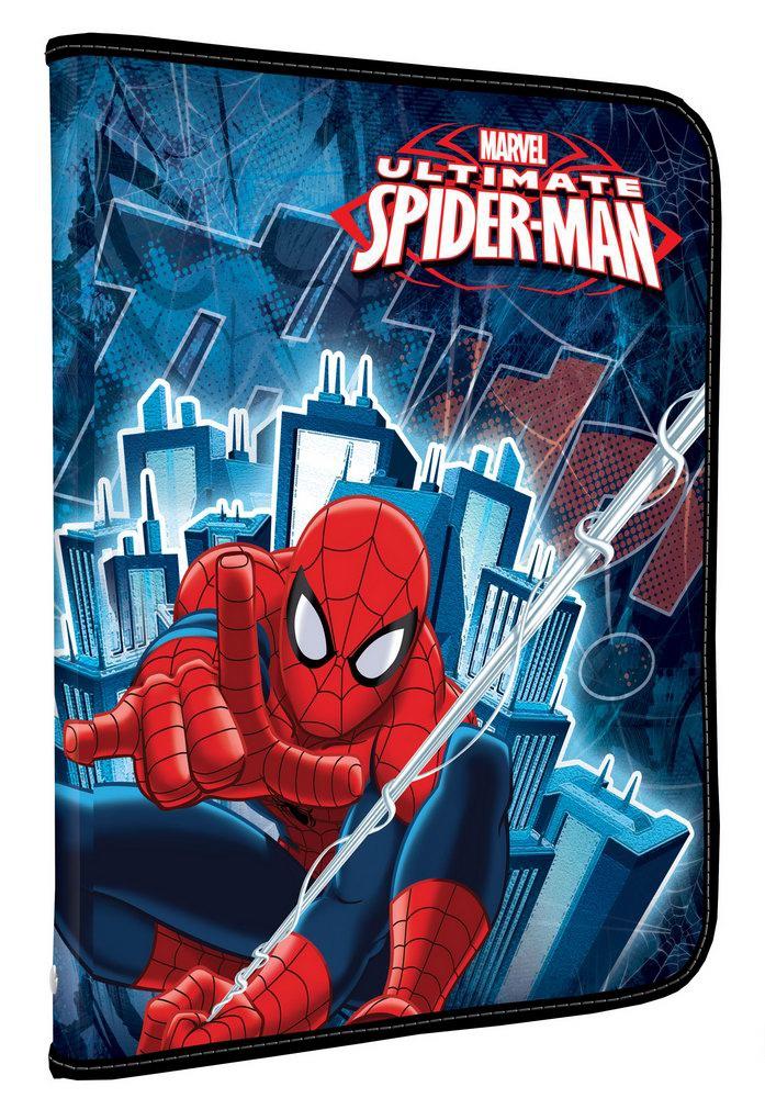Тетради, дневники Spider-man Spider-man папка портфель spider man