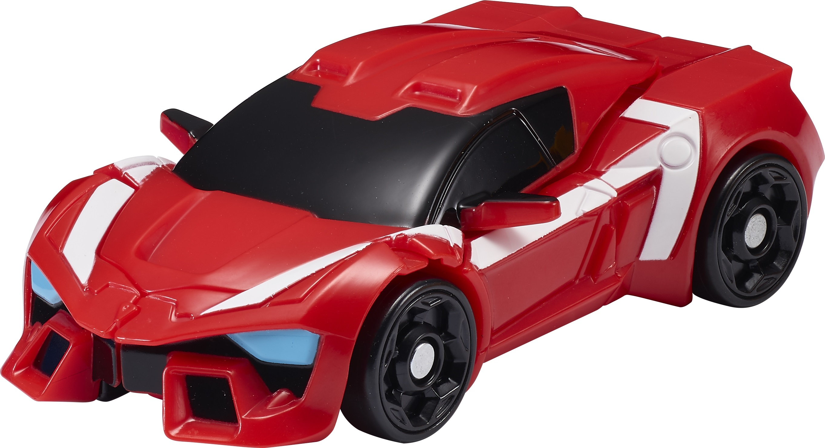 робот-трансформер Tobot Атлон Альфа мини S1 красный с черным