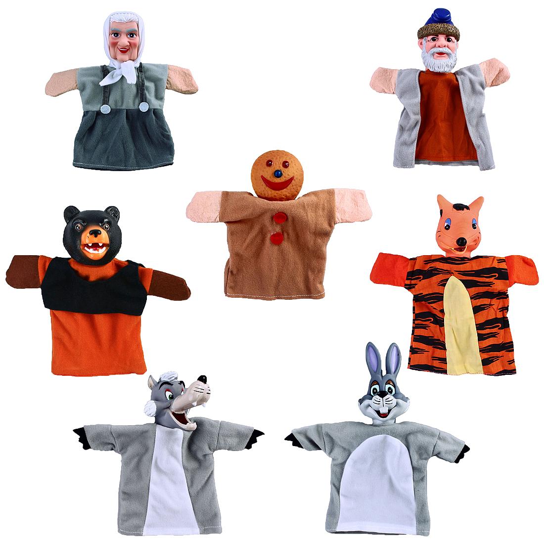 Развивающие игрушки Жирафики Кукольный театр  «Колобок» 7