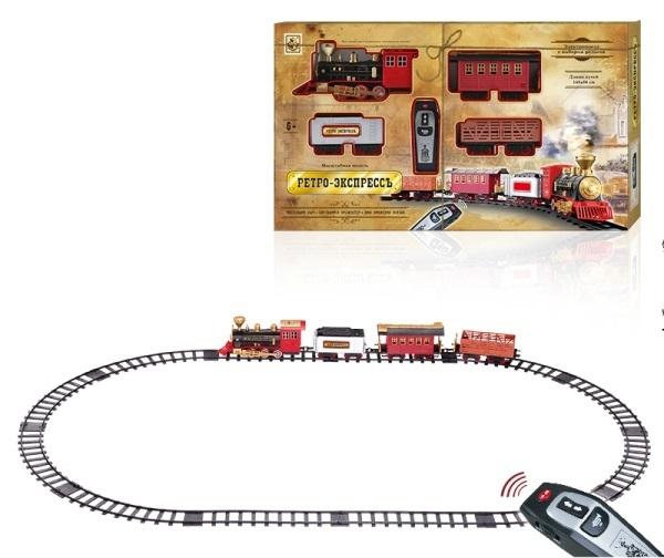 Железная дорога 1toy Ретро Экспресс Т10577 железная дорога 1toy ретро экспресс 16 дет