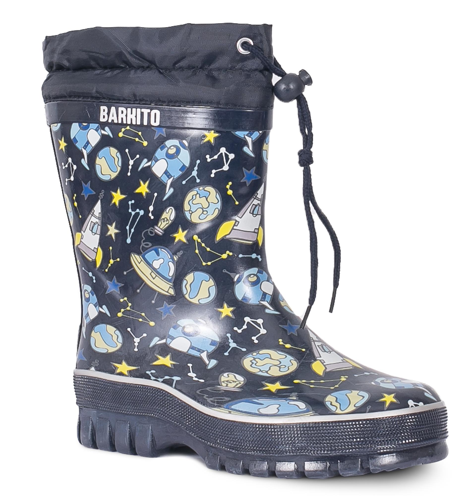 Резиновые сапоги для мальчика Barkito KRW18108 сапоги для мальчиков barkito синие