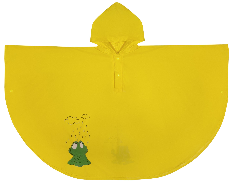 дождевики Плащи и дождевики Barkito Плащ - дождевик детский Barkito, желтый
