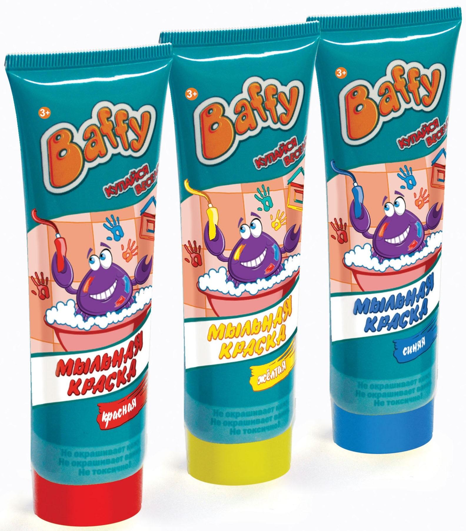Мыло Baffy Мыльная краска
