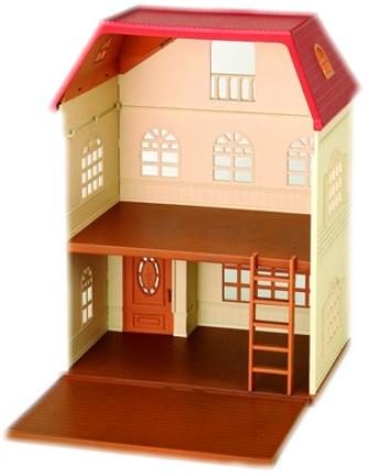 Набор SYLVANIAN FAMILIES Трехэтажный дом цена