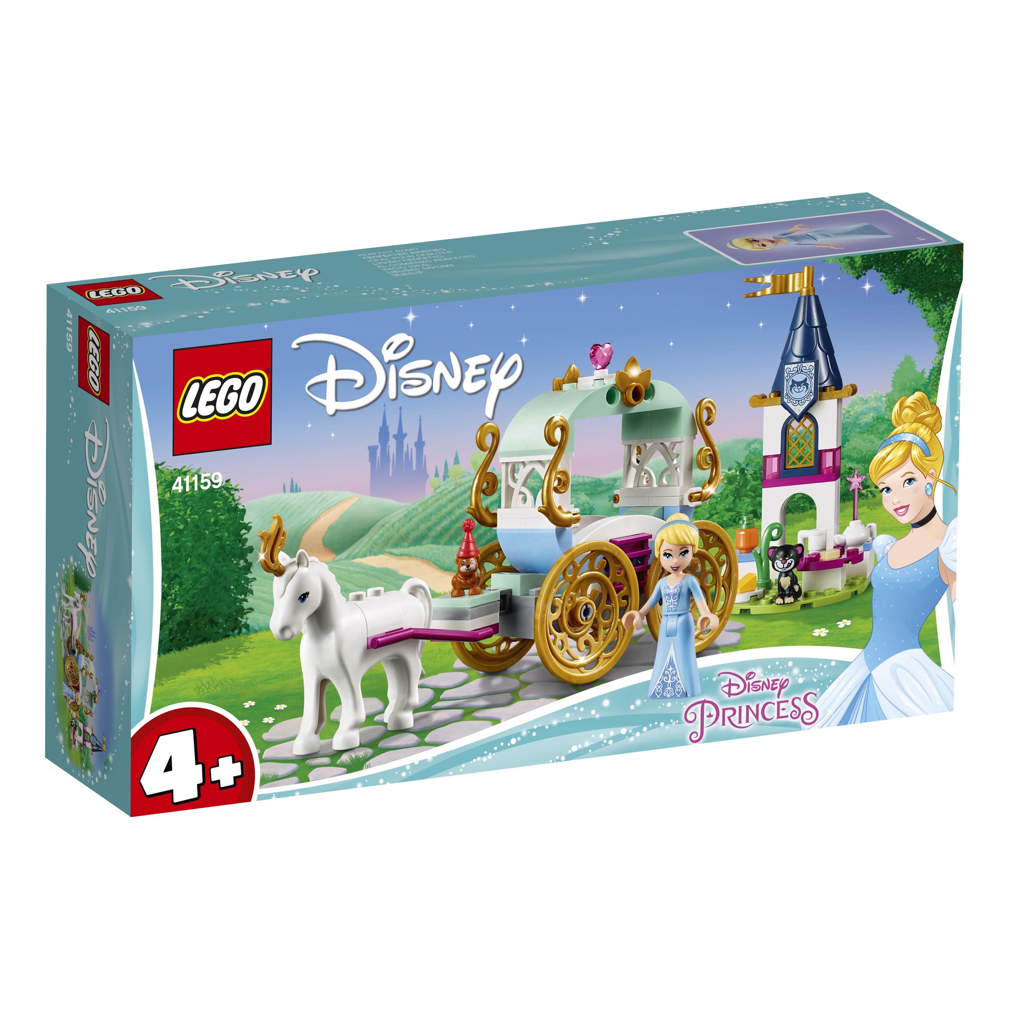 Конструктор LEGO Карета Золушки конструктор lego disney princess волшебный замок золушки 585 элементов 41154