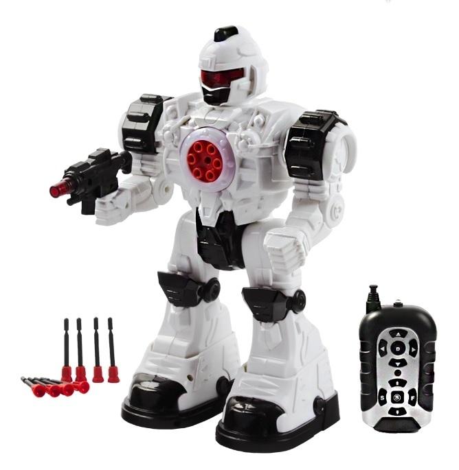 Интерактивная игрушка - робот Mioshi Steel Wolf Ares, 31 см