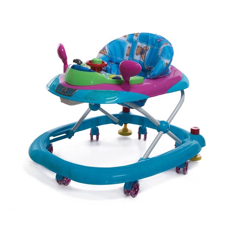 Ходунки и прыгунки Baby Care Prix синий baby care baby care детские ходунки prix желтый