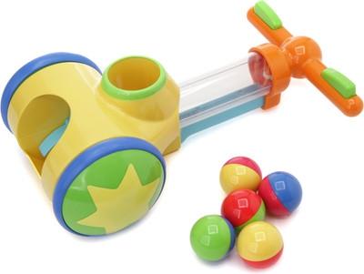 Игрушки-каталки Tomy Толкай-Запускай-Собирай каталки игрушки bondibon игрушка деревянная каталка с веревочкой гусеница bох
