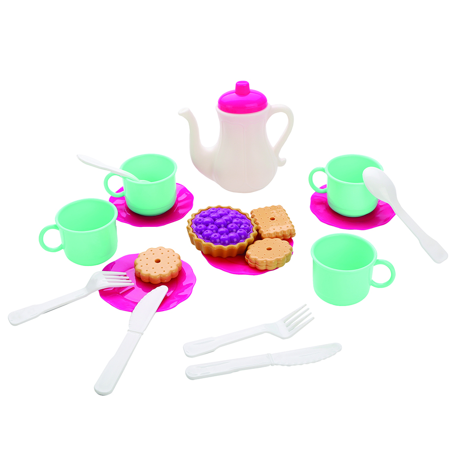 Игровой набор посуды и продуктов Mary Poppins 26 предметов посуда и наборы продуктов mary poppins набор посуды mary poppins в сумке