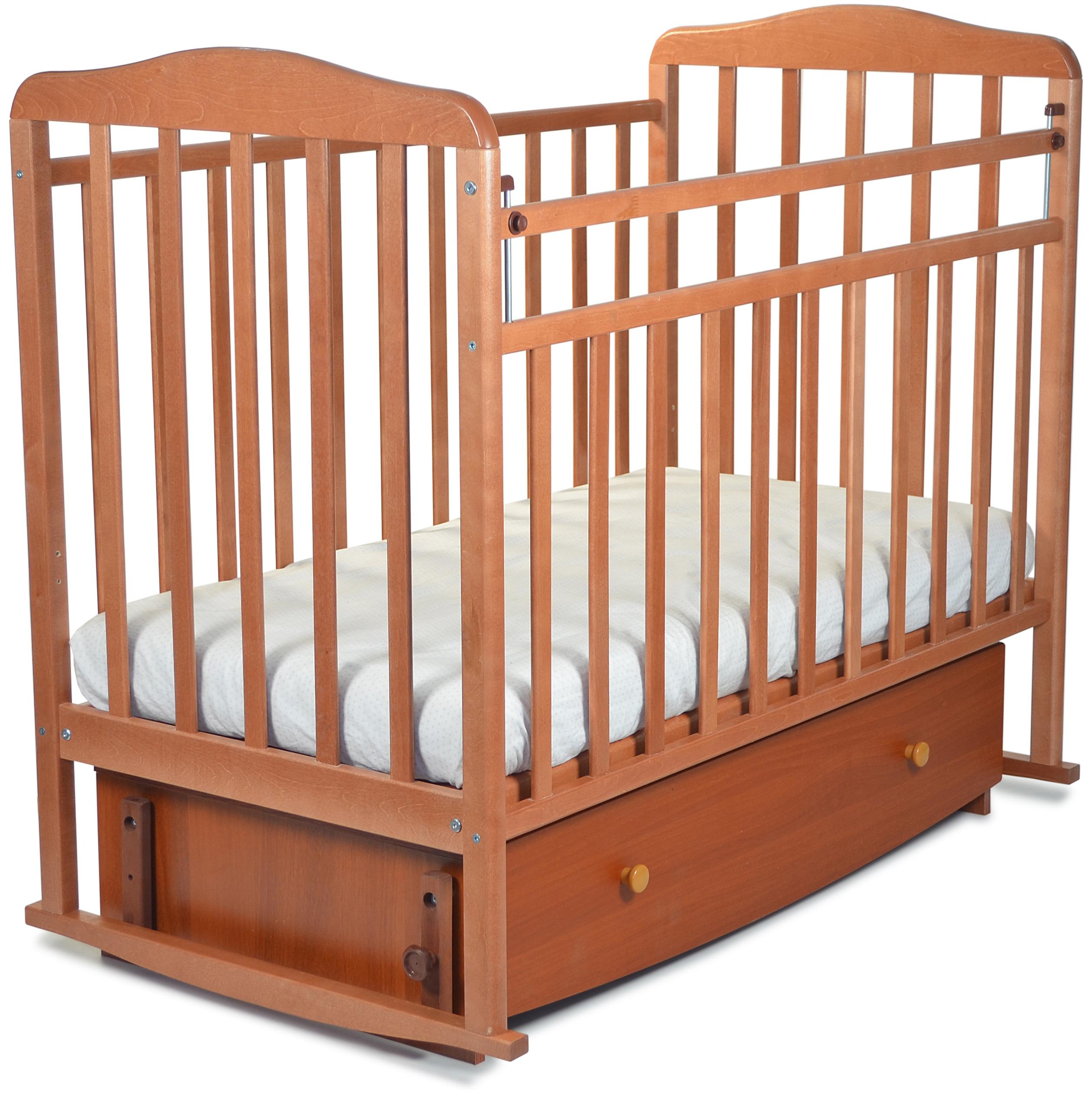 Кроватки детские СКВ-Компани Митенька кроватка скв березка 120119 бежевый