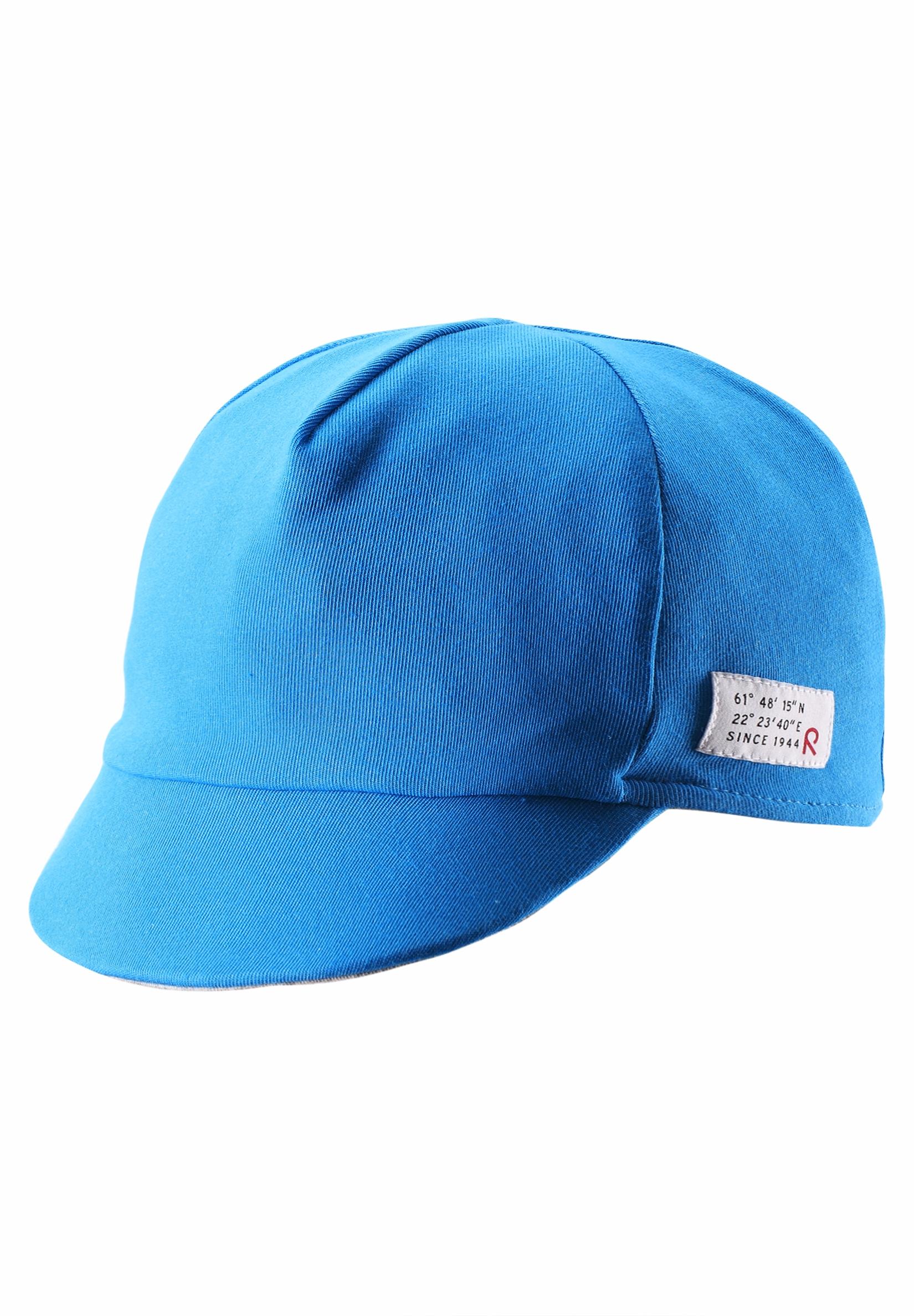 Головные уборы Reima Шапка для мальчика Cap, Wafer ocean blue, голубая childrens play ocean ball pool toy house