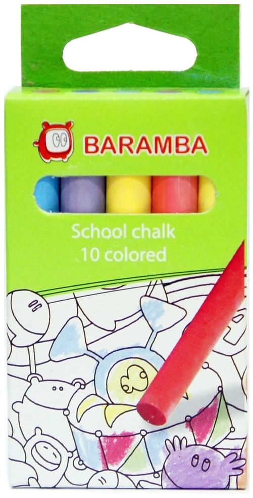 Мелки Baramba Baramba цветные 10 шт. мелки jovi classcolor цветные в коробке 10 шт