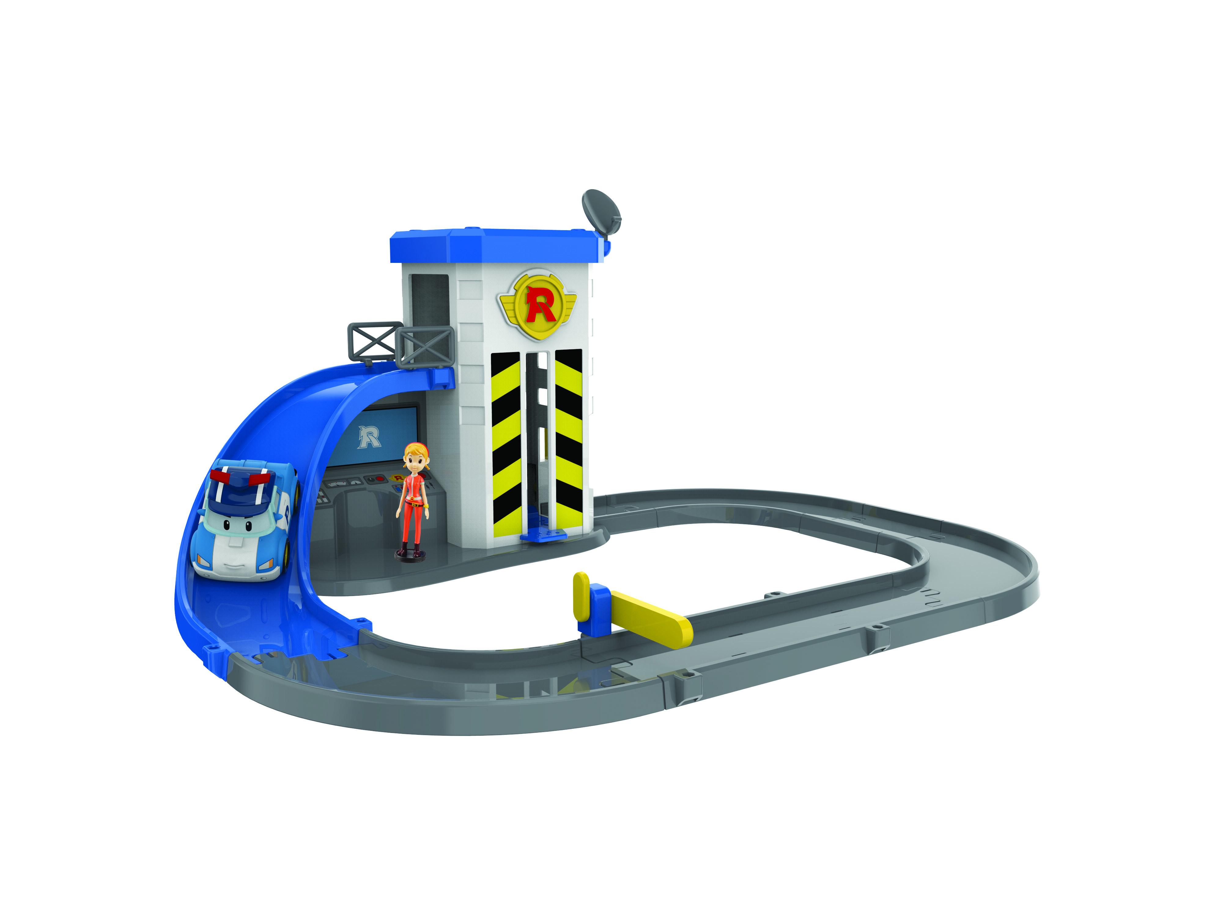 Игровой набор Poli Robocar Подъемник Поли игровой набор robocar poli подъемник с металлической машинкой поли и фигуркой джин