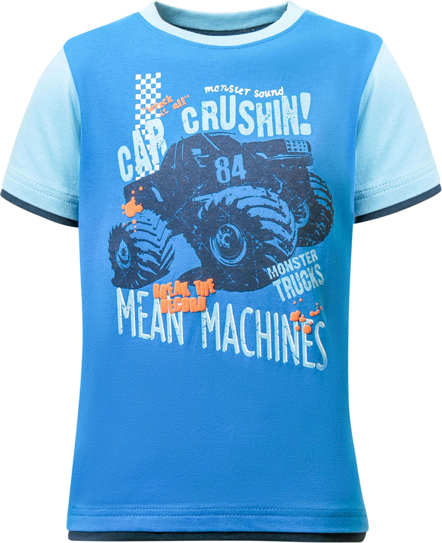 Футболки Barkito с коротким рукавом Монстр Трак футболки barkito футболка с длинным рукавом для мальчика barkito монстр трак синяя