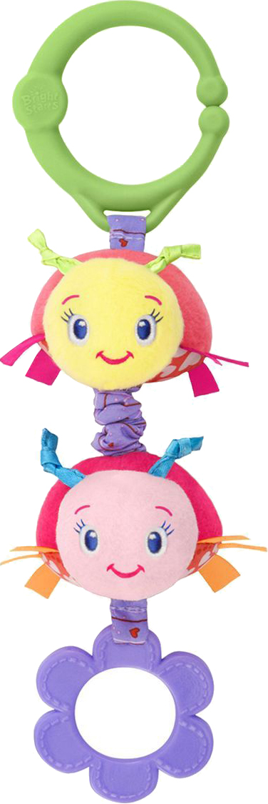 Фото - Погремушки BRIGHT STARTS Дрожащий дружок игрушка развивающая oops подвеска на коляску 2 вида o 12004 00