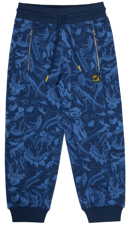 Брюки трикотажные Barkito Динозавры S19B4039J брюки barkito брюки трикотажные для мальчика barkito динозаврики синие