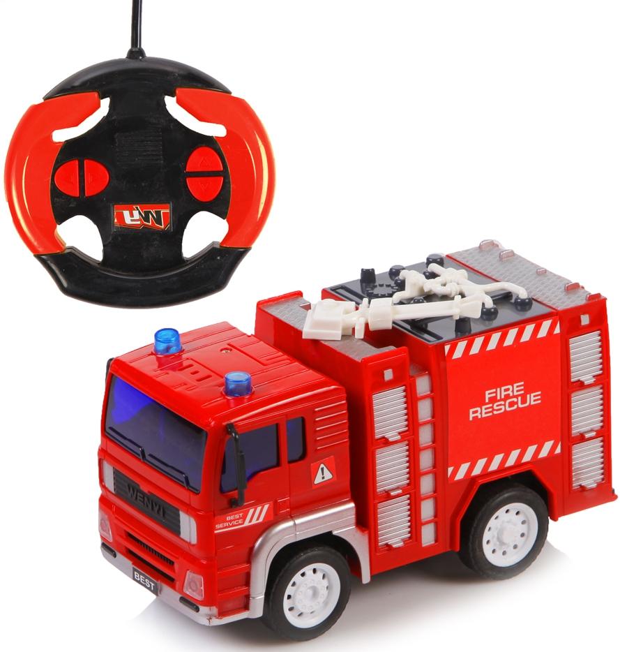 Машинки и мотоциклы YAKO пожарная на радиоуправлении машина yako m6451