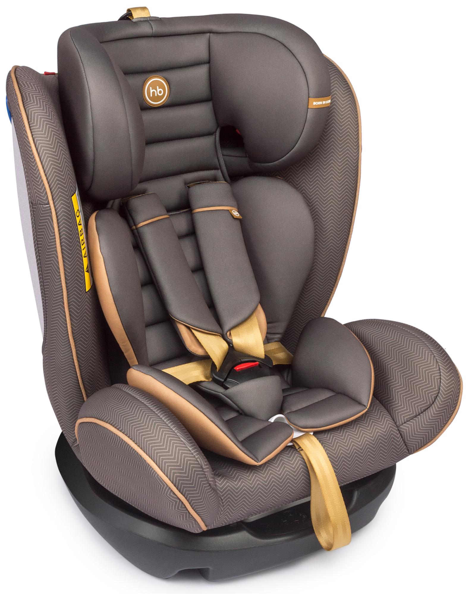 Автокресла группа 1/2/3 (9-36 кг) Happy baby Автокресло Happy Baby «Spector» 0-36 кг. коричневый автокресло happy baby spector black