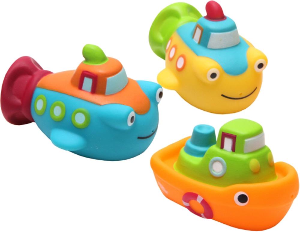 Игрушки для ванны ПОМА Морской бой игрушки для ванны пома кубики учим буквы