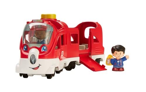 Машинки для малышей Little People Поезд Little People «Вежливые пассажиры»