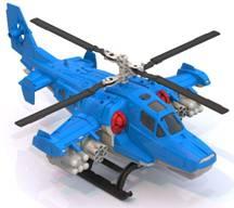 Купить Вертолет, Пожарный, 1шт., Нордпласт Н-249, Россия, blue, Мужской