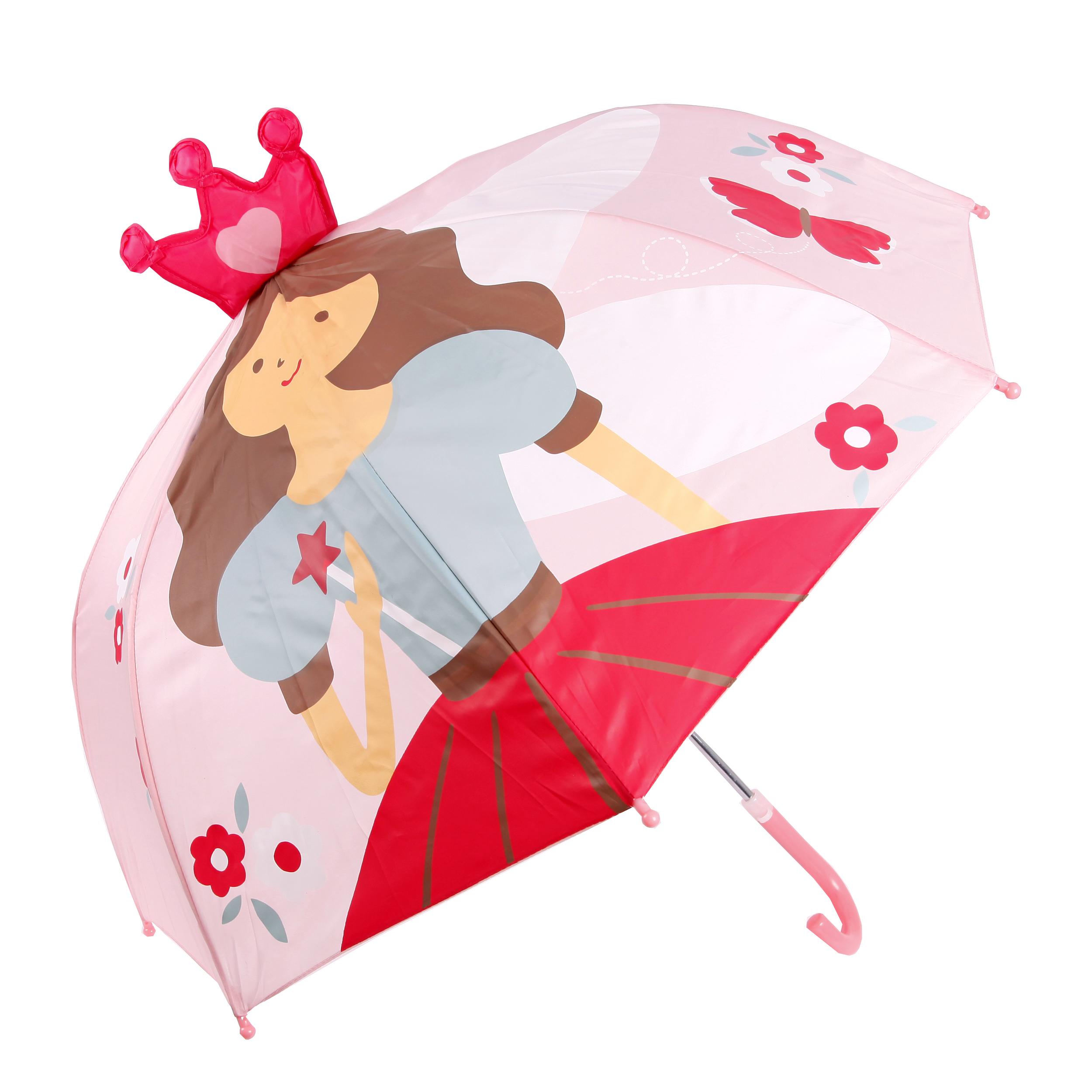 Купить Зонты, Принцесса, 46 см, Mary Poppins, Китай, розовый, красный, голубой, коричневый, Женский