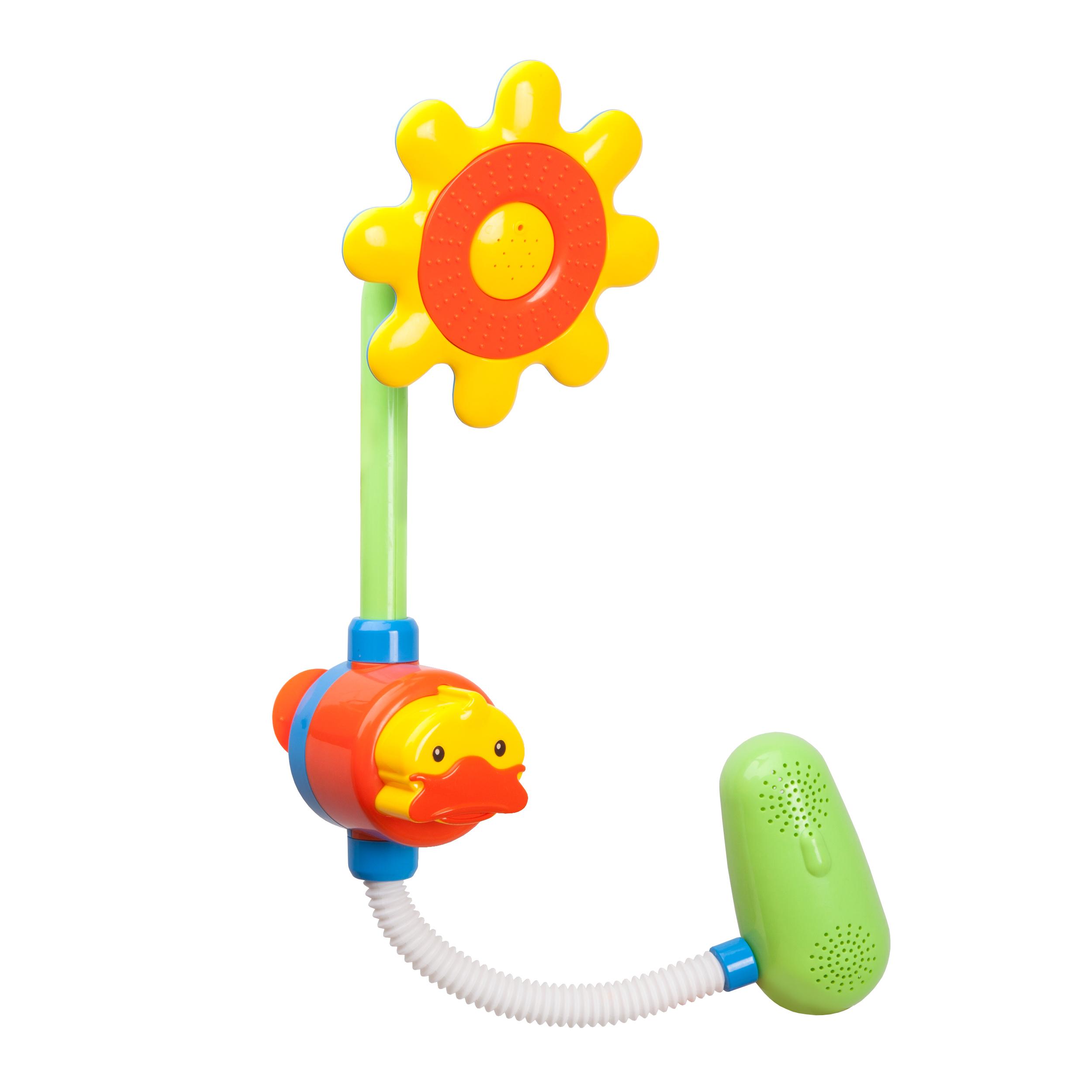 beifen музыки buddyfun детской игрушки ванна вода дрожащего душ с дождевой водой небольших танкерами Игрушка-душ для купания Жирафики «Цветок»