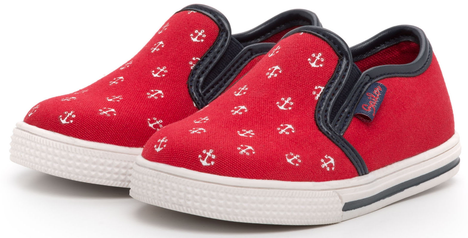 Кроссовки и кеды Barkito Полуботинки для мальчика Barkito, красные