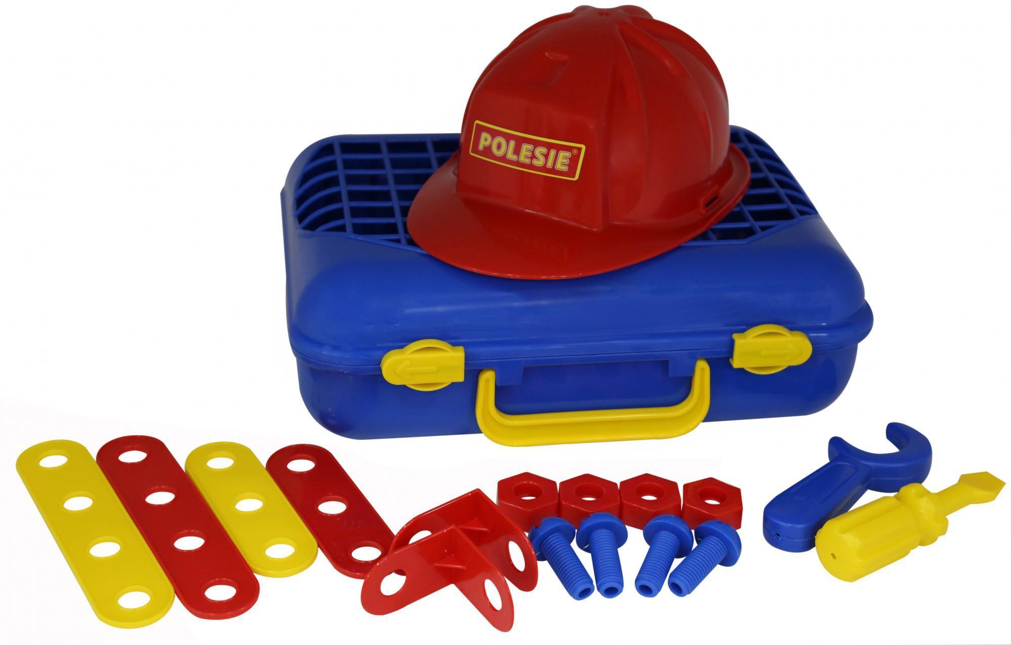 Наборы игрушечных инструментов Полесье Механик 2 31 элемент (в чемодане) цена и фото