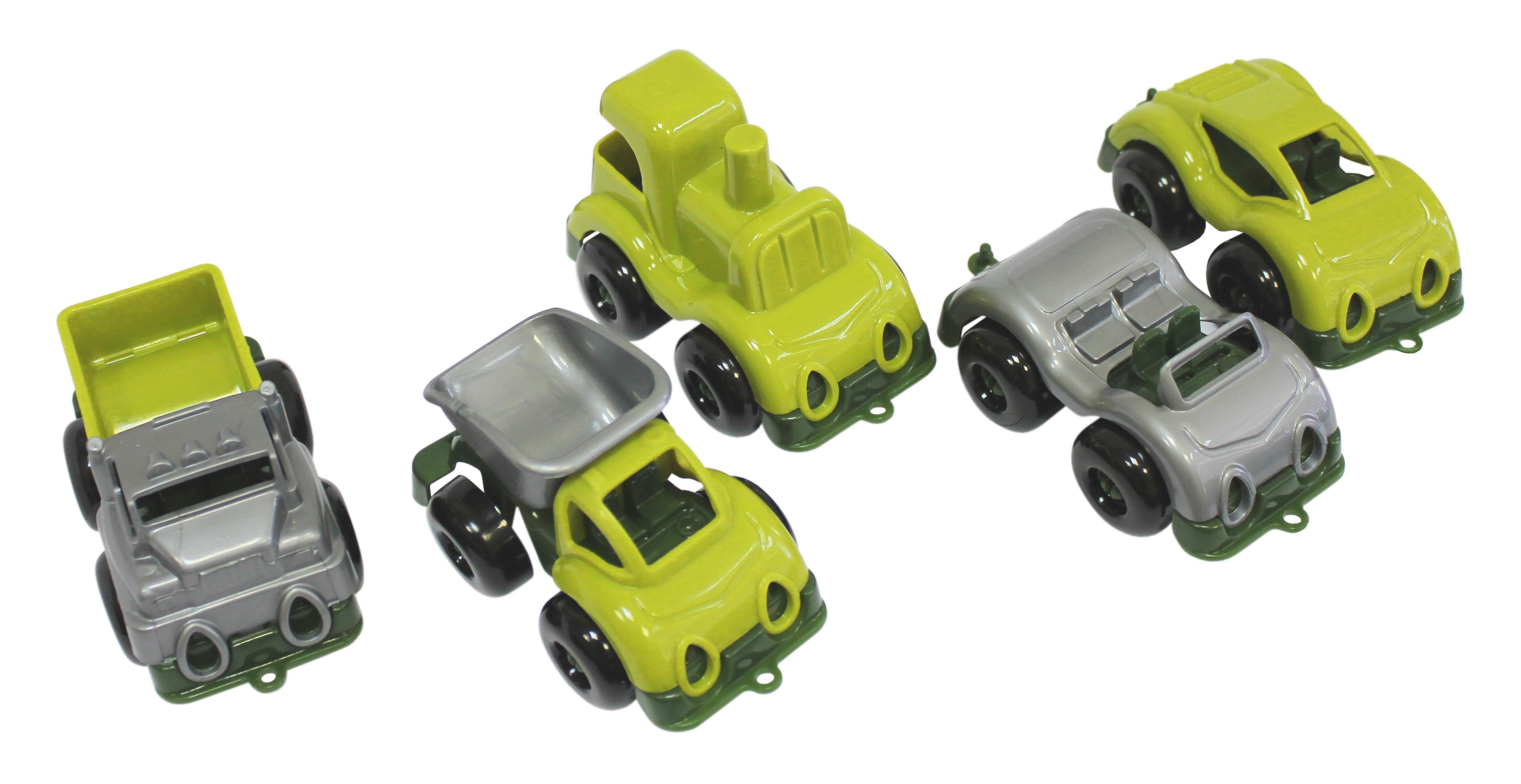 Грузовики и самосвалы Пластмастер Набор машинок Пластмастер «Малютка» военный игрушка пластмастер набор викинг