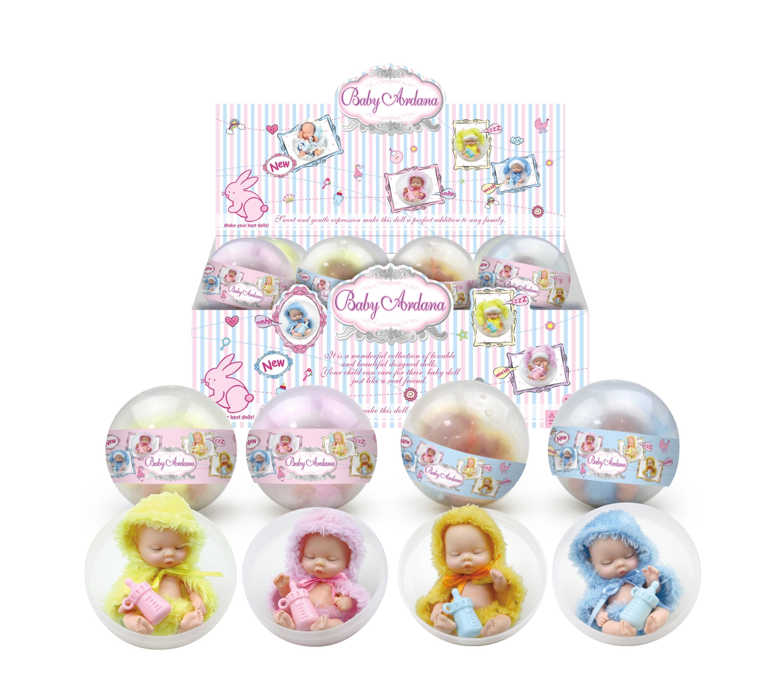 цена Кукла в шаре Junfa Toys Ltd в плаще онлайн в 2017 году