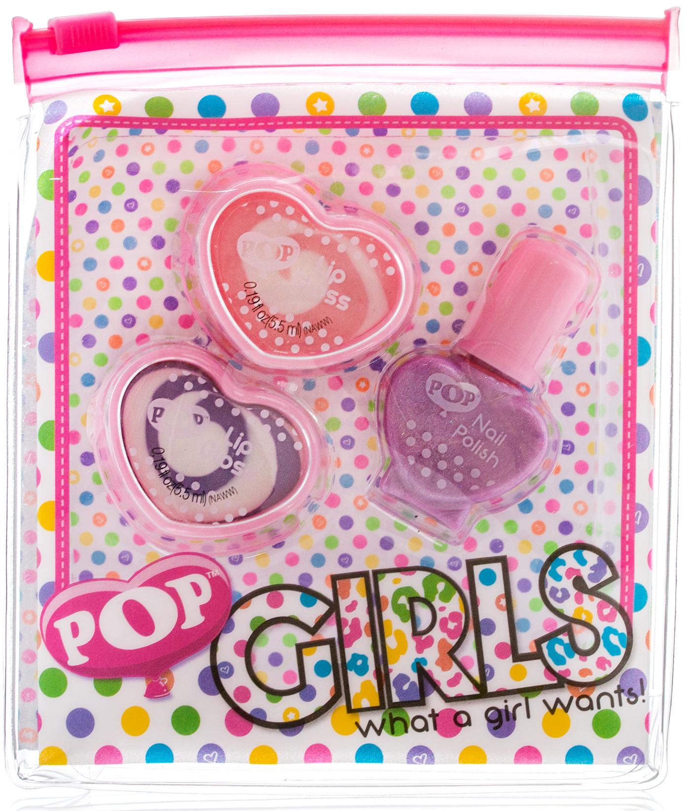 Декоративная косметика Markwins POP Girls в пакете детская косметика цептер