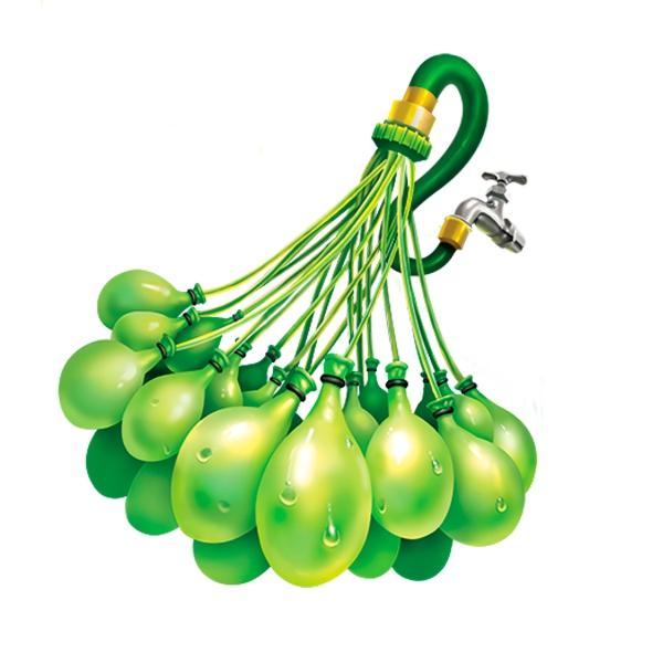 Купить Водное оружие, Простой 30 шаров Z1217, ZURU, Китай