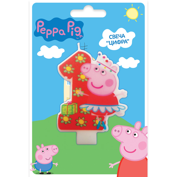 Peppa Pig Peppa Pig Peppa Pig Цифра 1 peppa pig find the hat sticker book