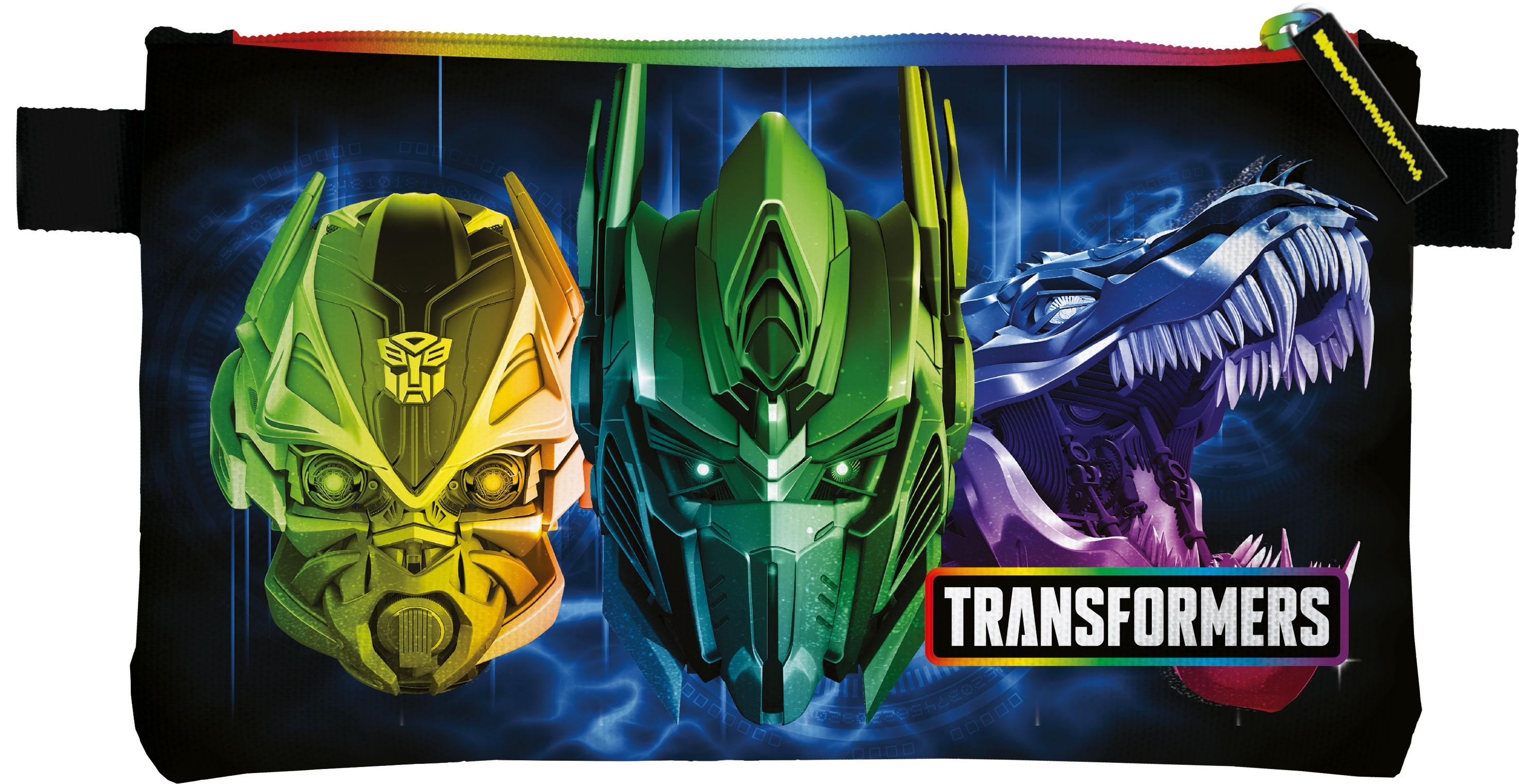 Пеналы и наборы Transformers Пенал Transformers с одним отделением на молнии канцелярия transformers пенал тубус transformers prime