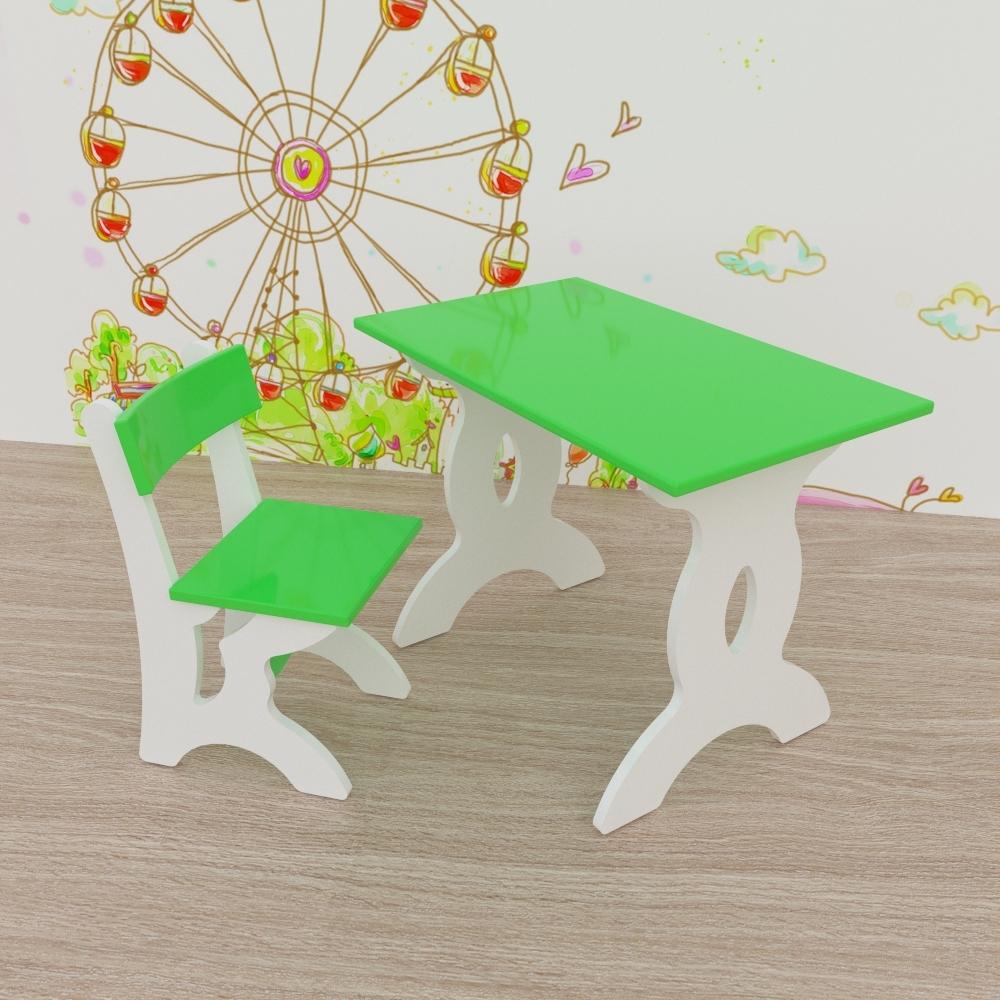 Набор детской мебели, Малина, 1шт., Малина 07DB17_GR_00, Россия, green  - купить со скидкой