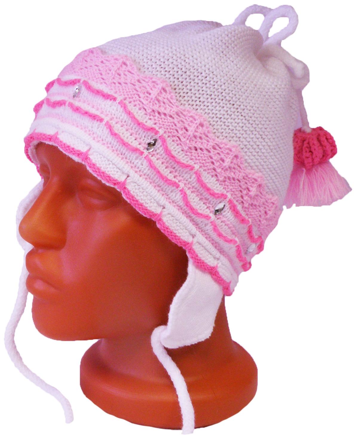 Шапка Индиго для девочки головные уборы индиго шапка индиго серая