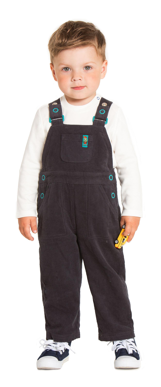 Полукомбинезон для мальчика Barkito Мини-монстр графитовый полукомбинезон джинсовый для мальчика barkito деним