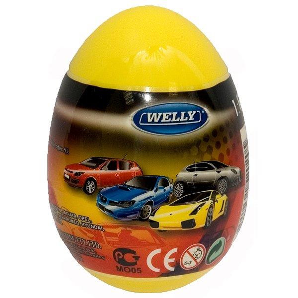Машинки Welly в яйце-сюрпризе