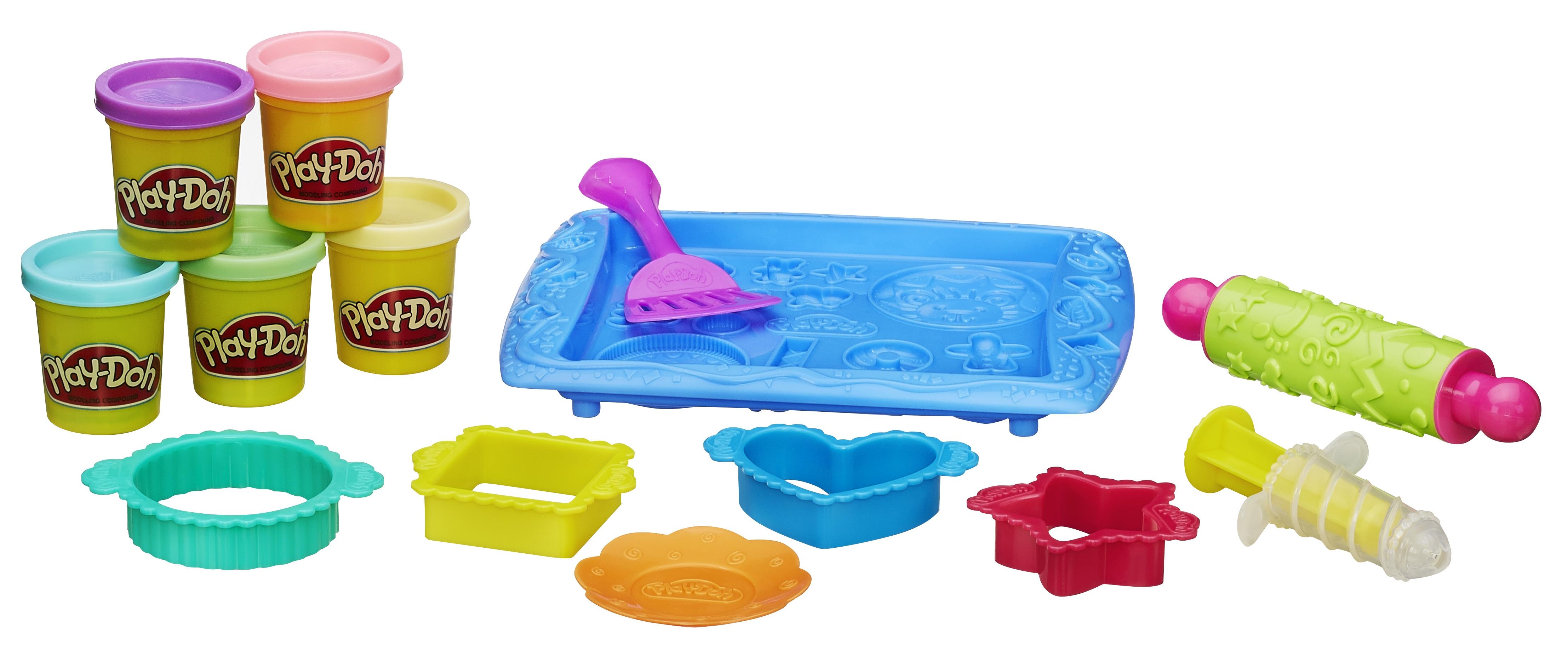 Пластилин и масса для лепки Hasbro Магазинчик печенья hasbro набор пластилина hasbro play doh цвета и формы