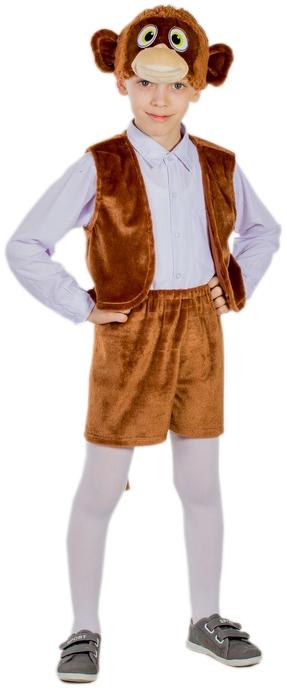 Костюмы и маски Карнавалия Карнавальный костюм «Обезьянка мальчик» Карнавалия