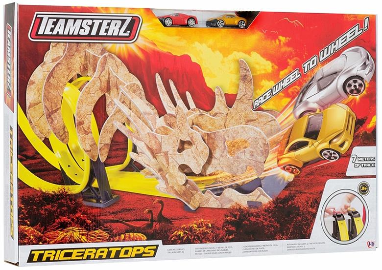 автотрек HTI Teamsterz: Динозавр Трицератопс