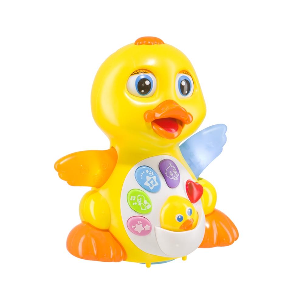 Обучающая игрушка Happy baby QUACKY happy baby happy baby музыкальная игрушка quacky