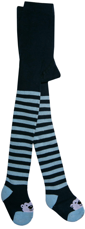 Колготки Barkito Колготки махровые для мальчика Barkito, синие с рисунком в полоску katamino колготки махровые