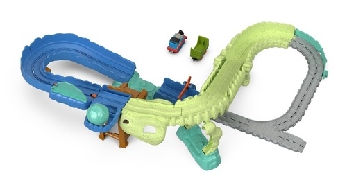 Игровой набор Thomas&Friends Томас и его друзья. Взрыв на динозавре