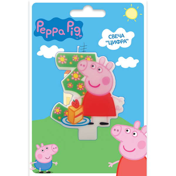 Peppa Pig Peppa Pig Peppa Pig Цифра 3 peppa pig find the hat sticker book